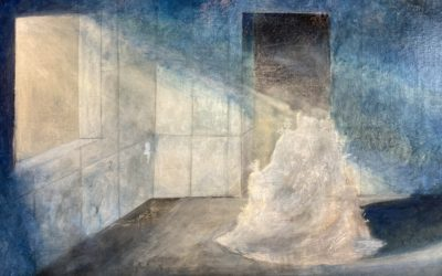 The creation of the digital fingerprint of the artwork