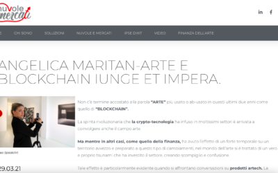 Nuvole e Mercati: Angelica Maritan – Arte e blockchain iunge et impera