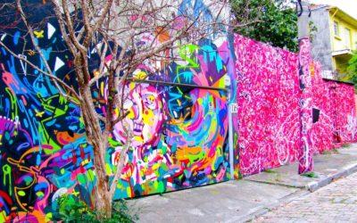 I graffiti parlano brasiliano