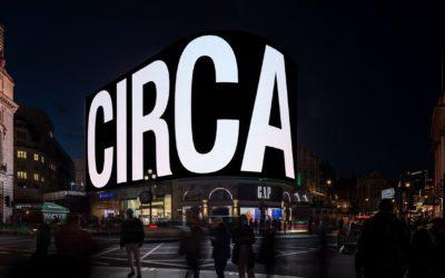 CIRCA proietta l'arte digitale in giro per il mondo
