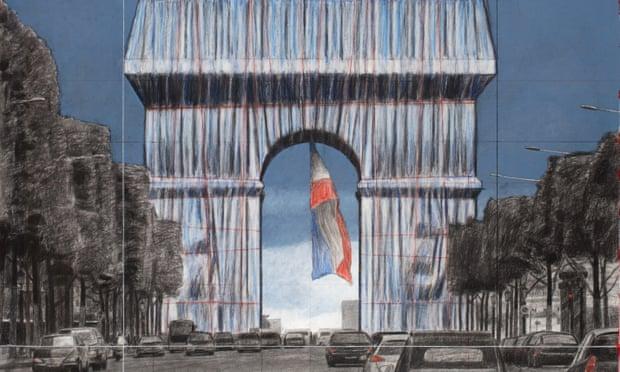 L'eredità di Christo: l'impacchettamento dell'Arco di Trionfo