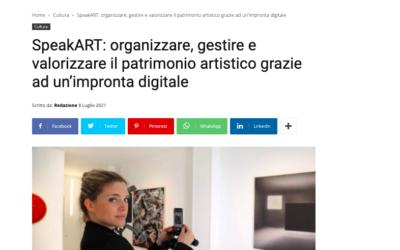 Geosmart Magazine: SpeakART: organizzare, gestire e valorizzare il patrimonio artistico grazie ad un'impronta digitale