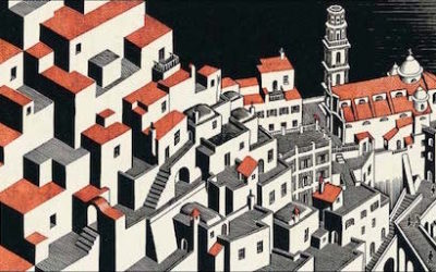 The art of the absurd and the impossible: Escher at the Palazzo Ducale in Genoa