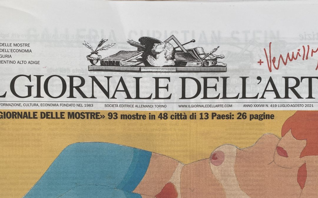 Il Giornale dell'Arte: Art leaves the digital fingerprint