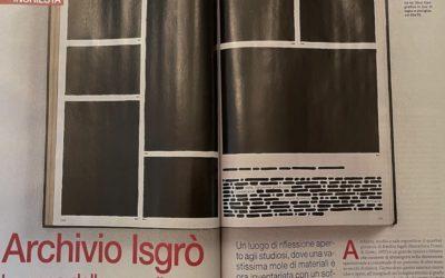 Arte: Archivio Isgrò. La casa della cancellatura