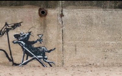"""Spray cans don't go on vacation: Banksy's English """"Spraycation"""""""