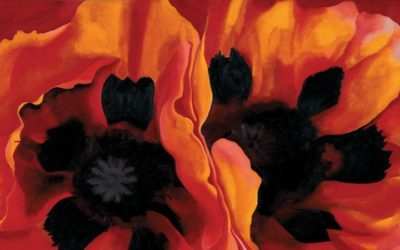 Everything isn't roses: Georgia O'Keeffe's retrospective at the Center Pompidou